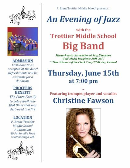 jazz night 2017 flier