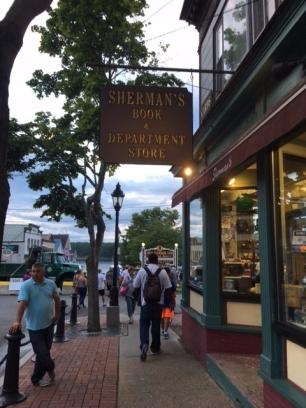 Sherman's Books in Bar Harbor, Maine
